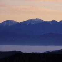 南アルプスの雲海