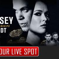 MMA UFC207。