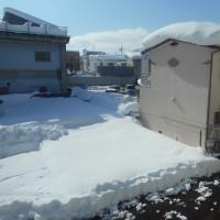 大雪とPC のールーターの故障