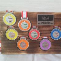 レインボーメダルホルダー