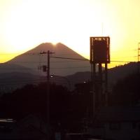 大晦日のダイヤモンド富士!