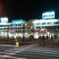 新潟駅にて