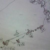 足跡地図~南の島編