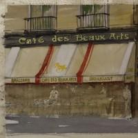 「 パリのカフェ 1 」