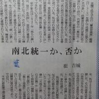 「南北統一か否か」(東洋経済日報2017.5.19寄稿)