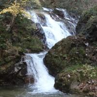 ぶらり旅・横川の下滝(茨城県常陸太田市)