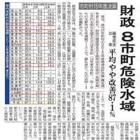 岡山県内の市町村財政状況公表