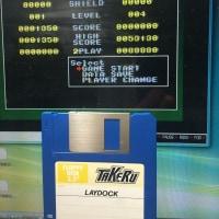 TAKEERU版のMSX2ソフト「レイドック」