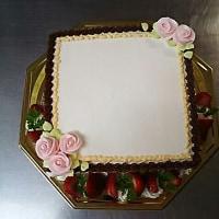 お手紙ケーキ(*^^*)