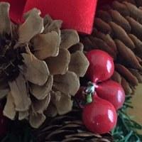翻新了聖誕花環