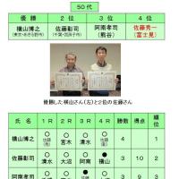 シニア名人戦・年代別選手権2017(埼玉県大会)