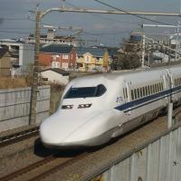 2016年12月7日 東海道新幹線 700系 B10編成 紅葉
