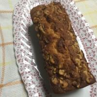胡桃とラムレーズンのパウンドケーキ