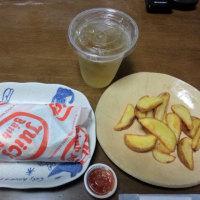 ジューシー バインミー (名古屋森下) ~ ベトナムサンドウィッチ レモングラスチキン ウィズ クリームチーズ ランチCセット&パクチー増量3倍 ~