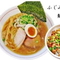 麺 雲雀(ひばり)@ふじみ野市 煮干しらーめん680円再食&そぼろ御飯250円と!