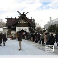 古神札焼納祭(どんど焼き)@北海道神宮