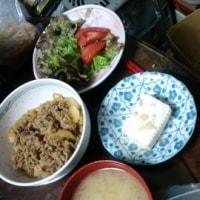 6月10日の夕飯のメニュー