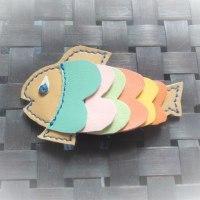 お魚ブローチあがりました。