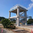 八木沢地区津波避難タワー完成