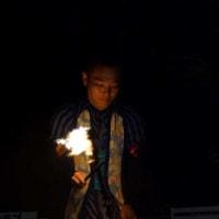 炎のジャグリング・・・