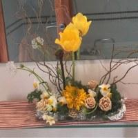 アリワーク刺繍家の花