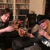 松本泰司くんと乾杯!万葉集、健次さんツアーいよいよ。今日の出来心2016年7月14日(木)