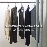THE WINTER CLEARANCE SALE - SHIRT/CUT&SEWN/KNIT