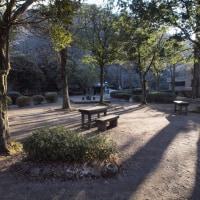仏山寺から金鱗湖