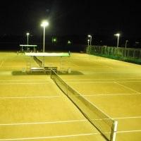 ナイターテニスコート