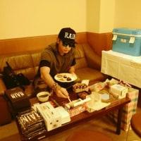 名古屋のファンミ楽屋