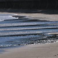 潮がだんだん満ちてきました。(Photo No.13839)