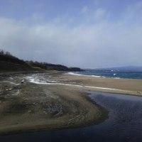 東通村のある漁港へ。