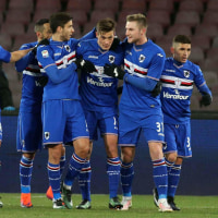 2016-17 SERIE A 第19節 Napoli 2-1 SAMPDORIA マフィアに奪われた勝ち星