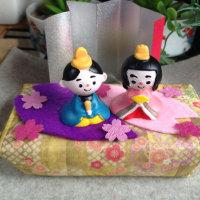 ◆我が家の雛飾り♪