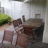 日曜大工で作りたいテーブルを椅子のセット!