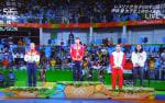 か、感動した。伊調馨の金メダル!