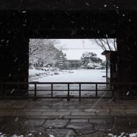 京都雪景色