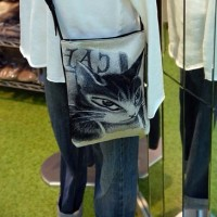 今度のゴブラン織りバッグはカフェダヤン! @nara_mise