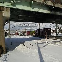 ブログ170115 新潟温泉旅行2~新津駅付近で貨物に遭遇