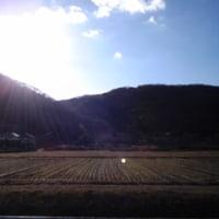 白くならない岡山市内
