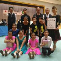 国体デモスポ(ダンススポーツ競技)・・・サークル対抗戦、ジュニア、D級