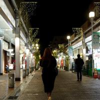 夜のはじまり 古町通り