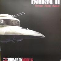本日の到着キット(2017-23)「スコードロン1/72 ドイツ軍 円盤型秘密兵器 ハウニブII」