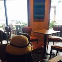 離島ターミナルのカフェ
