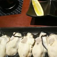 2年半ぶりの生牡蠣
