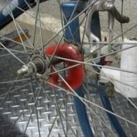 自転車 ハブ毛 自作物