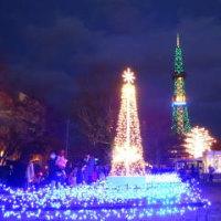 ミュンヘンクリスマス市・ホワイトイルミネーション
