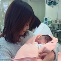 初孫の誕生