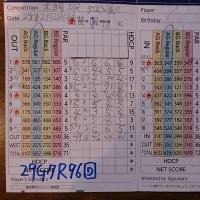 今日のゴルフ挑戦記(87)/東名厚木CC アウト→イン(A)