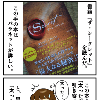 絵日記:ダイエットについて(1)太った考え!?